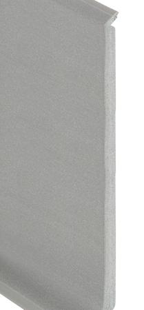Romuflex 100 Product Aluminium-plint ongeboord