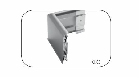 A range of aluminium components are available to create connectors