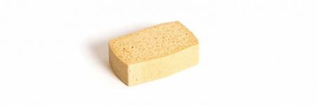 Cellulose Spongeis a durable natural sponge with very high absorption capacity