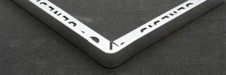 Produced from Machined Aluminium to ensure perfect finish to compliment the profile.