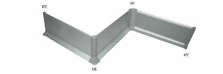 A range of PVC components are available to create connectors