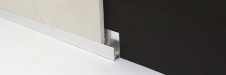 The Genesis PBA Base Seal joint is an aluminium profile that is used at the base of paneling.