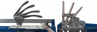 Professional tile cutter for ceramic and porcelain tiles.