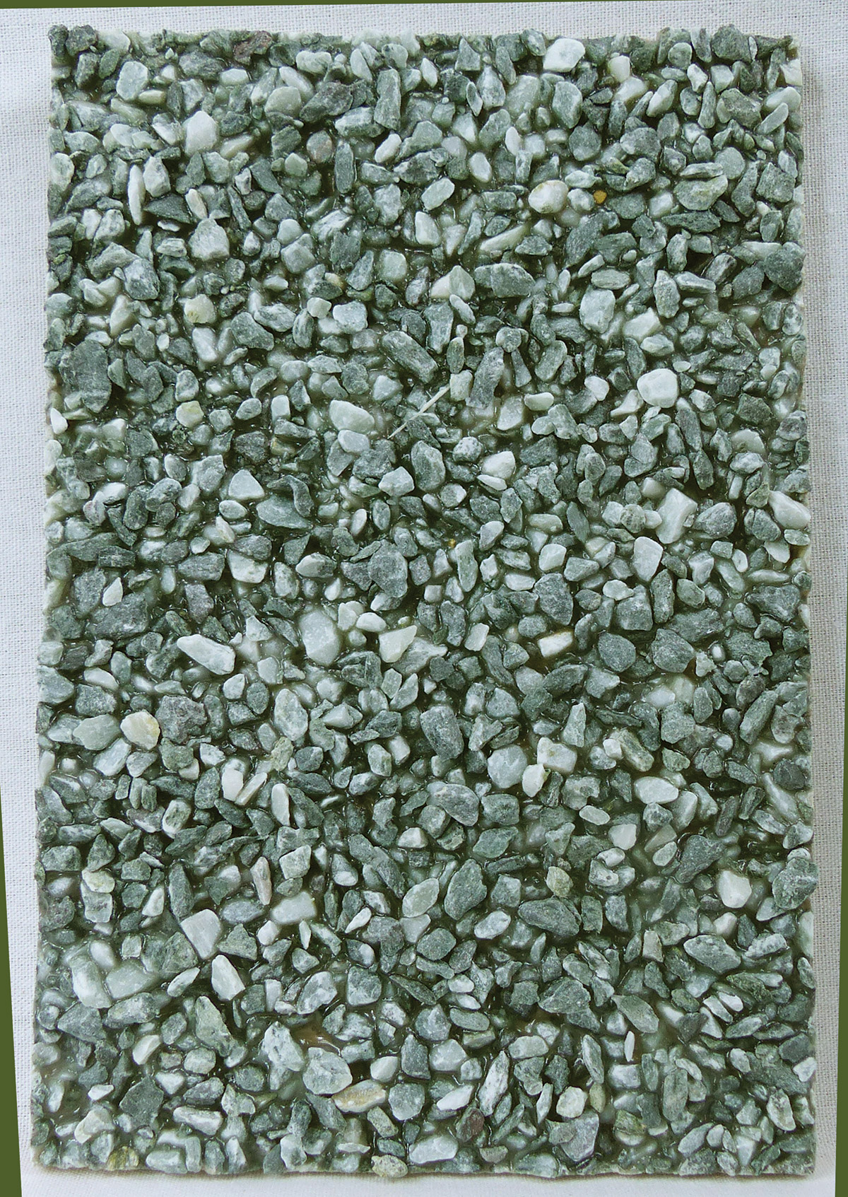 Green marble aggregate - Granulometry 1-2 / 2-5